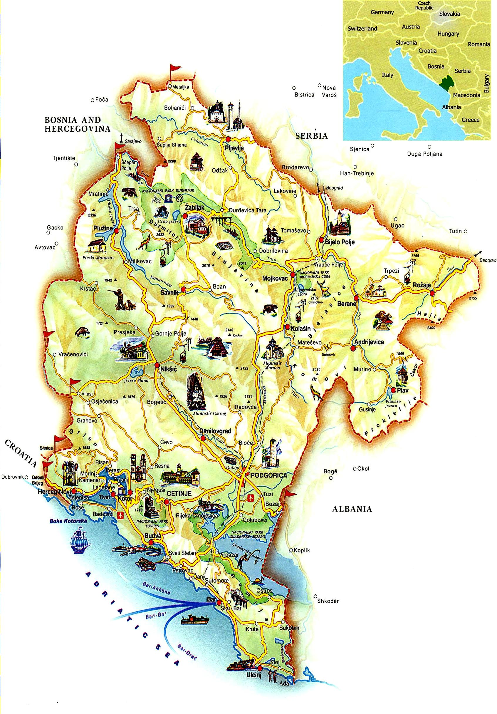 Черногория недвижимость побережье купить